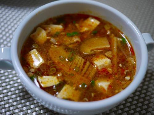 酸辣湯(醤油味)